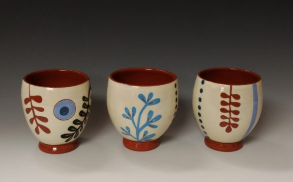 Three Cheerful Wine Cups
