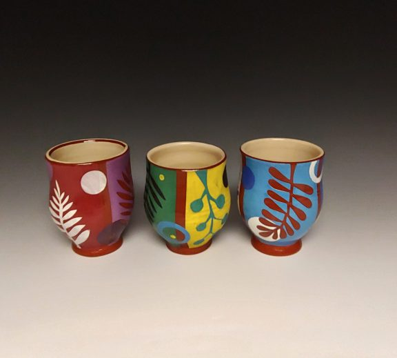 Three Cheerful Cups
