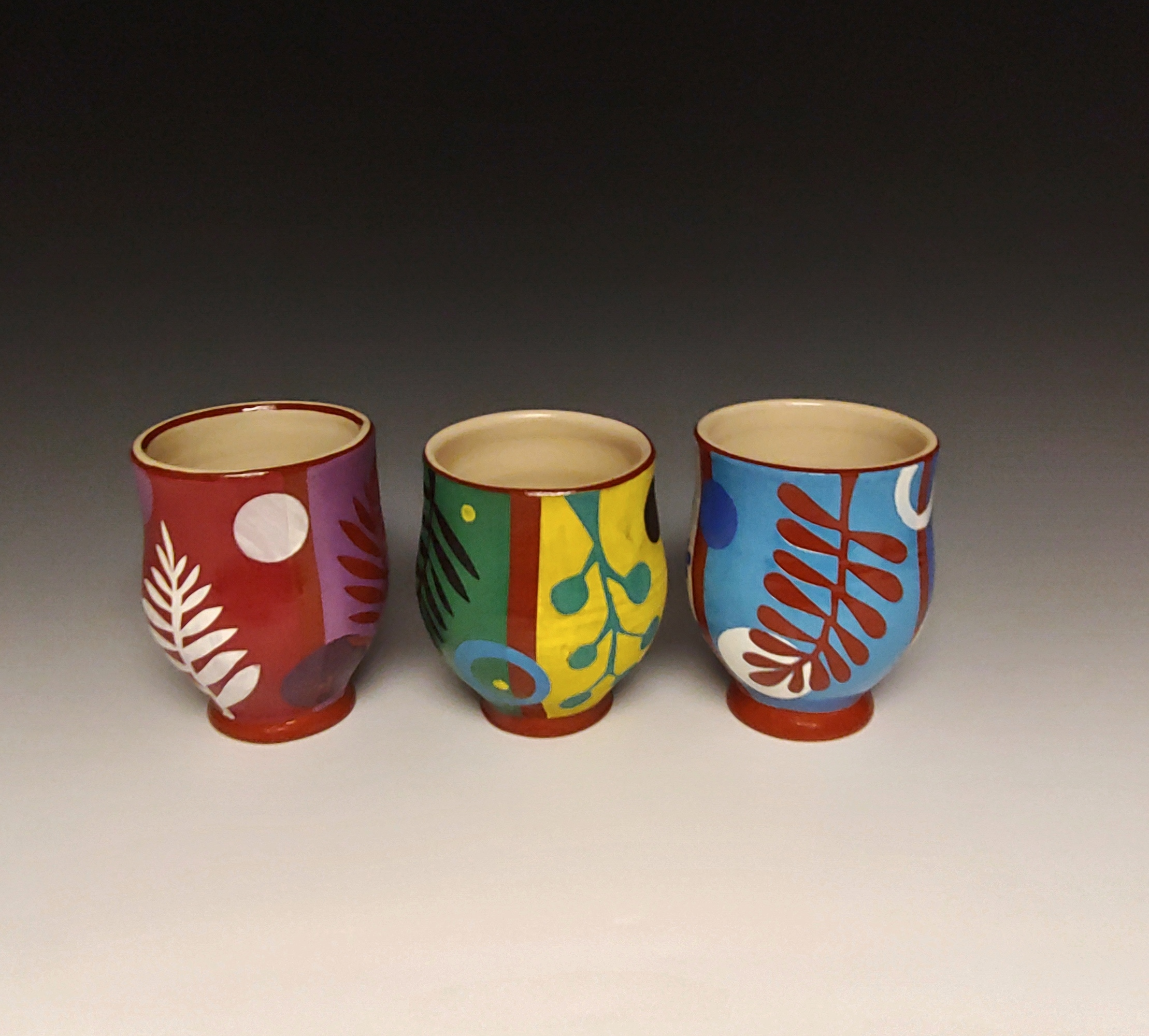 Three Cheerful Cups