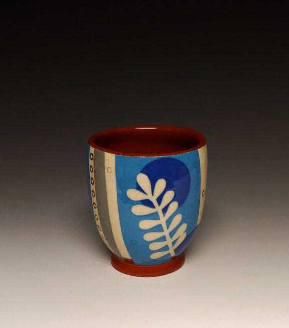 Blue Yunomi Cup
